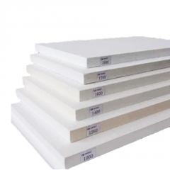 现货窑炉隔热陶瓷纤维复合硅酸铝板 高密度阻燃硅酸铝板