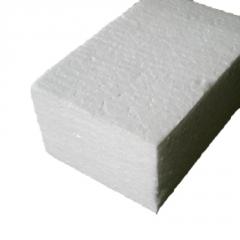 现货定制防震聚苯乙烯泡沫板 10cm中密度白色闭孔eps塑料泡沫板