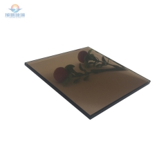 产地货源5mm茶色镀膜玻璃 金茶色钢化玻璃 厂家定制加工茶色玻璃