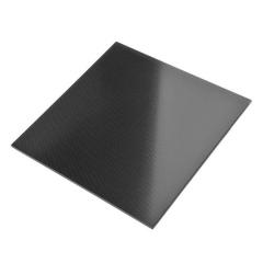 新品大货电脑机箱面板钢化玻璃黑色透明透光高冷黑色钢化玻璃