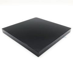 19mm/22MM黑玻 工艺品底座专用不透黑玻 高贵典雅黑色钢化玻璃