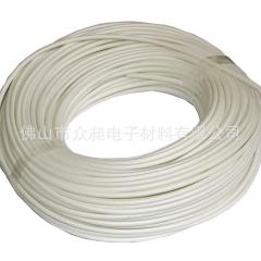 厂家供应优质耐高温特殊玻璃纤维套管定纹管化纤管硅管耐高温套管