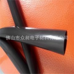 厂家供应阻燃黑色硅胶管热缩管红色硅胶热缩管高温硅胶热缩管