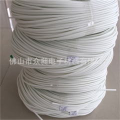 佛山南海厂家直销优质阻燃纤维通纤维管硅管玻璃纤维套管