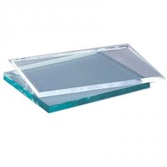 工厂加工 超白鱼缸低铁低碳玻璃 精磨直边10mm12mm15mm金晶超白