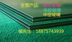 厂家生产各种颜色pvb 夹胶玻璃黑色 灰色 蓝色 红色等