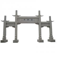 曲阳厂家定做石雕牌楼雕塑中式牌楼牌坊大型石牌楼村口优质价低