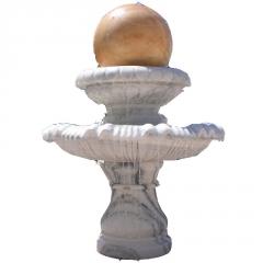 厂家定做 石雕喷泉 欧式摆件 大理石喷水园林景观雕塑