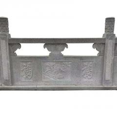 曲阳厂家直销天青石栏杆 寺庙河边石雕栏杆 桥梁建筑安全护栏