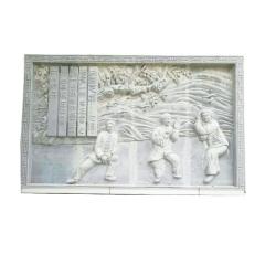 腾祥供应青石浮雕壁画 公园旅游景点大型石雕壁画