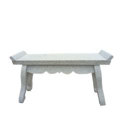腾祥加工石桌子石凳子 仿古雕刻象棋桌面公园景区石桌子石凳子