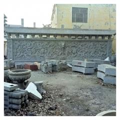 定制石雕浮雕壁画文化墙庭院广场景区园林雕刻花鸟山水 厂家热销