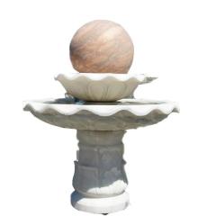 汉白玉石雕喷泉 大型喷泉 厂家定做大理石庭欧式喷泉 欢迎咨询
