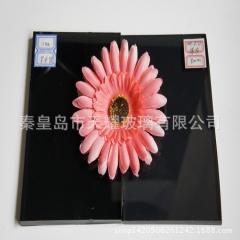 秦皇岛深灰玻4-6mm 颜色玻璃批发 质优价廉 钢化打孔
