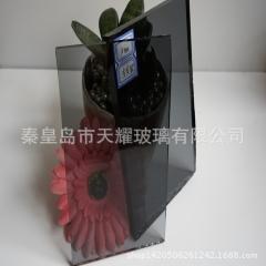 浅灰玻 灰色玻璃8厘 2140*1650mm 出口非洲