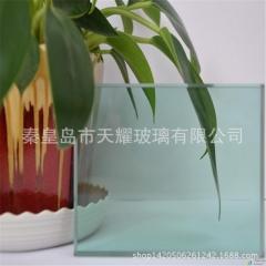 F绿玻璃10mm 3660*2440mm裸包 加工改裁