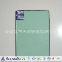 批发浅绿玻 浅绿着色玻璃 6mm 3300*2440mm 门窗原片玻璃