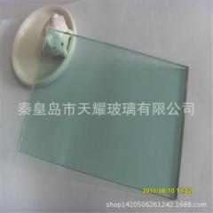 有色玻璃原片批发 10厘浅灰玻 F绿浮法玻璃原片 支持定制加工