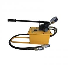 惠扬牌手动双向液压泵站手摇超高压双管小型双回路HYCP-700E油泵