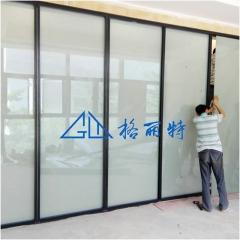 电动智能通电变色玻璃 智能温控调光玻璃触摸控制面板