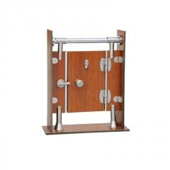 专业304不锈钢卫生间隔断配件公共洗手间隔间五金连接件 厂家直销