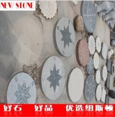 五莲红小罗马柱子 五莲红仿型罗马柱定制 北方异型花岗岩供应商