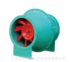3C认证轴流式消防排烟风机 消防高温排烟风机 消防风机 轴流风机 HTF