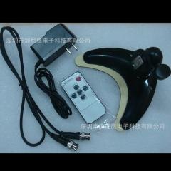 8寸胶壳液晶监视器 CVBS+VGA+BNC十字线瞄准方屏监控屏 8寸荧银幕