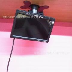 7寸航空头显示器 录像机液晶屏1024*600 高清台式机 车载监控