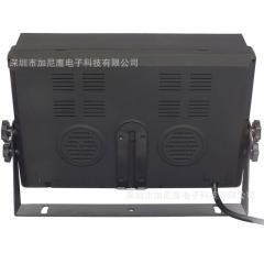 7寸9寸10.1寸四路录像显示器车载影音DVR高清液晶显示器4分割遮阳