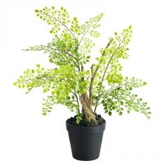 设计师款蕨类仿真植物花艺摆件家居软装客厅仿真绿植盆栽假花摆件