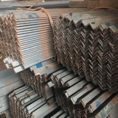 广东钢材 热镀锌冲孔花角钢 多孔角铁 Q235货架桥架管道支架 直销