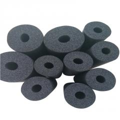 w现货批发橡塑管b1级 空调阻燃橡塑管 橡塑管道保温棉 铝箔橡塑管