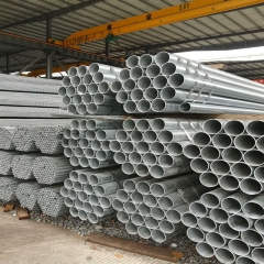 云南钢材 镀锌钢管 大棚管 友发消防供水圆管dn100 厂家价格直销