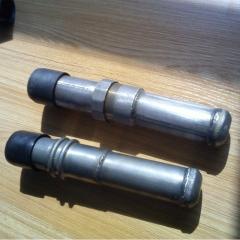 云南钢材加工 54*1.5钳压式声测管 国标探测管定做超声波检测管材