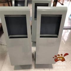 指纹机安装立柱读卡立柱读卡器立柱门口机可视对讲安装不锈钢柱子