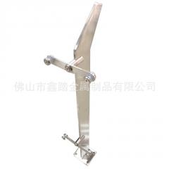 立柱 不锈钢立柱 菱形双挂楼梯扶手适用各种室内外平台夹玻璃配件