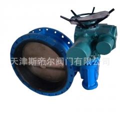D941X-10Q电动蝶阀 软密封法兰蝶阀 球墨铸铁材质 厂家直供 天津