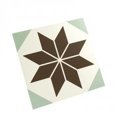 艺术北欧式复古花砖彩色仿古防滑地砖 客厅餐厅厨房卫生间阳台300