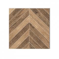 鱼骨木地板瓷砖木纹砖地砖客厅餐厅卧室防滑仿实木地板砖600x600