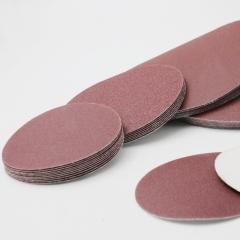 ORKAN9寸自粘式砂盘 氧化铝植绒砂纸片 金属打磨抛光拉绒圆盘砂纸
