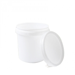 化工塑料包装桶批发14L加厚乳胶桶涂料桶油漆桶 带盖密封塑料圆桶