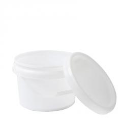 希盛达7.5L塑料桶 耐摔化工塑料桶加厚带盖密封圆桶乳胶桶涂料桶