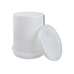 希盛达19L塑料机油桶 全新环保化工塑料机油桶加厚乳胶桶密封圆桶