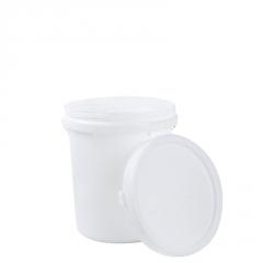 化工塑料桶 20L环保食品级螺旋桶 加厚乳胶桶涂料桶 包装塑料圆桶