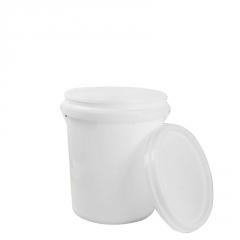希盛达塑料桶19L全新材料化工塑料桶加厚乳胶桶涂料桶密封圆桶