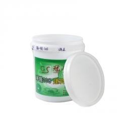 化工塑料桶 食品级包装桶 18L加厚白乳胶桶涂料桶 密封塑料圆桶