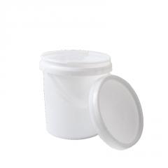 厂家批发塑料包装桶 17.5L化工塑料桶 加厚乳胶桶涂料桶密封圆桶