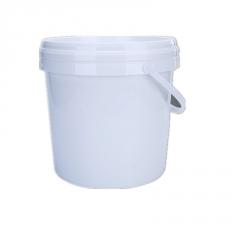 厂家批发 15L加厚乳胶桶涂料桶 塑料化工印刷油桶 密封圆形白桶