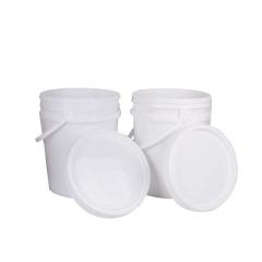 批发化工塑料桶 20L标准环保加厚乳胶桶涂料桶食物密封圆桶塑料桶